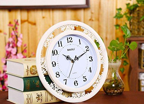 KKLOCK Wanduhr Uhr Wanduhren Lautlos Für Wohnzimmer Büro