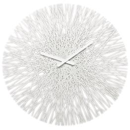 koziol Wanduhr Silk, Kunststoff, solid weiß, 3,5 x 44,8 x 44,8 cm - 1