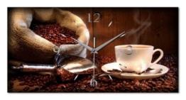 Kreative Feder WA092F Kaffee Küchen, Funk Wanduhr modernes Design - 1