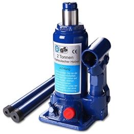 [lux.pro] Wagenheber (2 Tonnen Stemmkraft) hydraulisch / Zylinderkopf-Heber / Hydraulik-Heber - 1