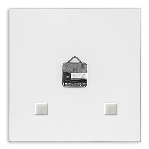 wanduhr aus glas f r die k che iced lemon zitrone im. Black Bedroom Furniture Sets. Home Design Ideas