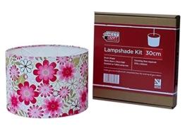 Bausatz zur Dekoration mit Lampenschirm Durchmesser 30cm zum Hängen oder für die Stehlampe - 1