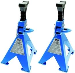 BGS 3016 Unterstellböcke Traglast 6000kg / Paar Hub 420 - 600 mm - 1 Paar - 1