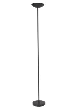 Brilliant 93034/06 Jersey Deckenfluter mit Fußdimmer, Metall, 230 W, R7s, schwarz, 22 x 22 x 177 cm - 1