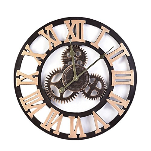 chendongdong wanduhr k chenuhr r mische ziffern europ ische vintage k nstlerische. Black Bedroom Furniture Sets. Home Design Ideas