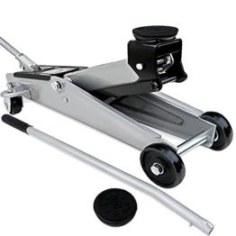 Deuba® Hydraulischer Wagenheber Rangierwagenheber | 3 Tonnen | kompakt und stark | roll- und lenkbar | inkl. Gummiauflage - Modellauswahl - 1