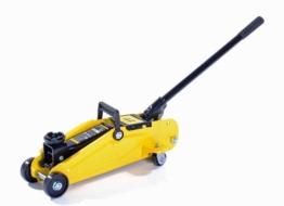 Dunlop 304017 Hydraulischer Profi Rangierwagenheber, hoch belastbar bis 2,0 t (2.000 kg), Hubhöhe 135 bis 305 mm - 1