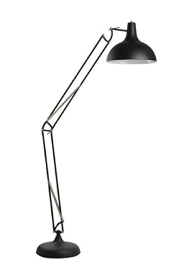 Felis Lifestyle 5002526 Bodenlampe office, Metall, schwarz, 38 x 38 x 180 cm - 1
