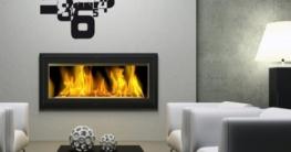 Graz Design 800066_silb_071 Wandtattoo Uhr Wanduhr moderner Zahlenmix - Wohnzimmer (Uhr Silber/Aufkleber Grau) - 2