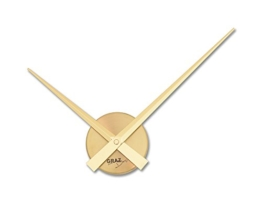 Graz Design Uhrwerk_GD Wanduhr Little Big Time Mini gold - 1