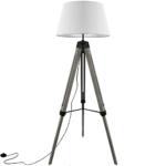 Stehlampe Dreibein grau kaufen