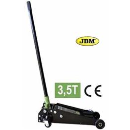 JBM 50818Hydraulischer Wagenheber Hebebühne mit Rad-Largo Kap, 3,5t, 685mm - 1