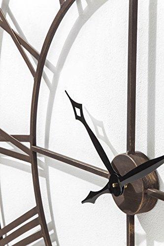 kare wanduhr factory 120 cm moderne grosse xxl dekouhr. Black Bedroom Furniture Sets. Home Design Ideas