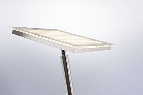 led deckenfluter dimmbar mit flexibler leselampe stehleuchte wohnzimmerlampe standleuchte led. Black Bedroom Furniture Sets. Home Design Ideas