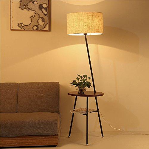 Legely kreative japanischen stil massivholz stehleuchte - Schlafzimmer tischlampe ...