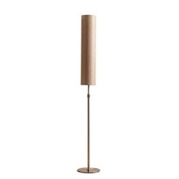 MMM- Stehlampe Schlafzimmer Wohnzimmer Studie Einfache vertikale Tischlampe Tuch Lampenschirm Eisen Lichtmast Einstellbare Höhe E27 Fußschalter Stehlampe ( Farbe : # 5 ) - 1