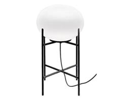 Moderne Stehlampe / schwarz, weiß / kleine Ausführung / E27 / Stehleuchte Kugel / Standleuchte Design / Wohnzimmer Leuchte / Schlafzimmerlampe Beleuchtung - 1
