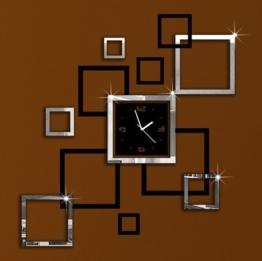OrrOrr Moderne Wanduhr Design Wandtattoo Dekoration Uhren NEU Spiegel Geschenk #1 - 1