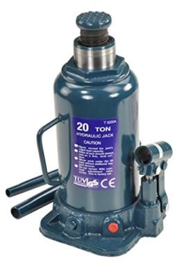 Pro-Lift-Montagetechnik 20t Stempelheber, Hydraulikzylinder, 242mm - 452mm, T grün, 00912 - 1
