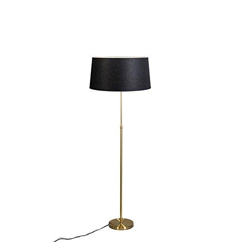 qazqa klassisch antik stehleuchte stehlampe standleuchte lampe leuchte parte matt gold. Black Bedroom Furniture Sets. Home Design Ideas