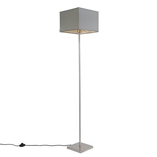 QAZQA Modern Stehleuchte / Stehlampe / Standleuchte