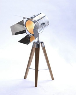 STATIV STEHLEUCHTE STUDIOLAMPE STEHLAMPE SPOT MIT KLAPPEN Lampe Höhe 67cm 605457 - 1