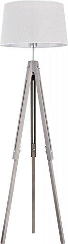 Stehlampe Lampe Stehleuchte Dreibein Leuchte höhenverstellbar Standleuchte IKEA (Grau) - 1