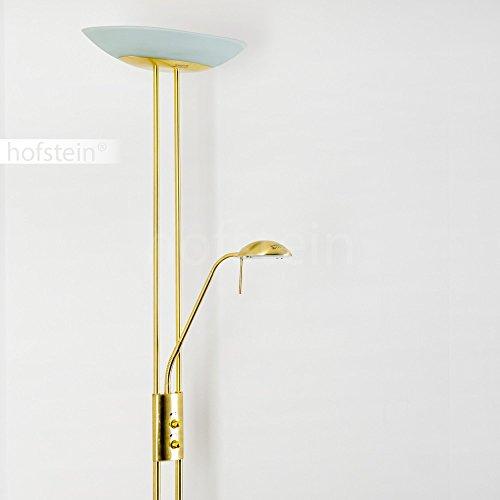 stehlampe lucca deckenfluter dimmbar led stehlampe gold mit 1700 lumen 480 lumen und. Black Bedroom Furniture Sets. Home Design Ideas