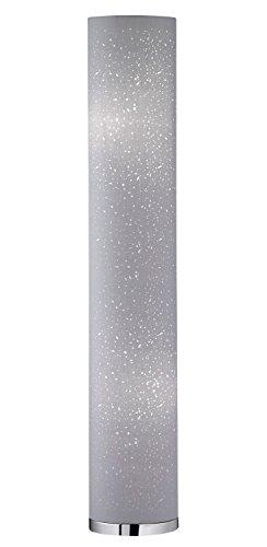 Stehlampe Stehleuchte Standleuchte THOR 1 | 110 cm hoch | Kunststoff | Grau | ohne Leuchtmittel - 1