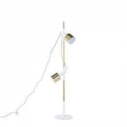 Stehlampe weiss 148 cm OWENS - 1