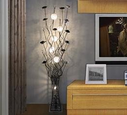 Stehleuchte einfache moderne Stehlampe Wohnzimmer Schlafzimmer Dekoration LED Kristall Stehlampe Standleuchten - 1