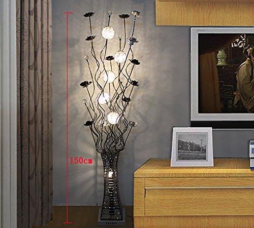 Stehleuchte einfache moderne stehlampe wohnzimmer for Moderne dekoration wohnzimmer