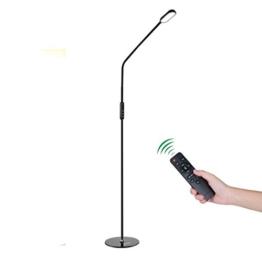 Stehleuchten LED , ICOCO 9W Dimmbare LED Stehlampe fernbedienung mit 5 Farbtemperaturen und 5 Helligkeitsstufen, Wohnzimmer oder Kinderzimmer - 1