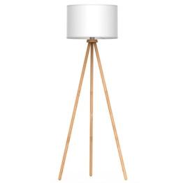 tomons Stehlampe Stativ aus Holz für das Wohnzimmer, Schlafzimmer und andere Zimmer, Skandinavischer Stil, 148 cm Höhe – FL1002 - 1