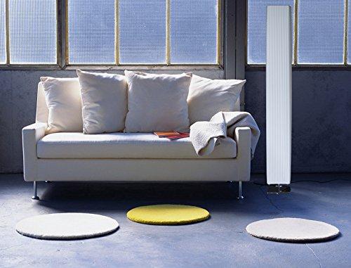 Trango design plissee stehleuchte stehlampe wohnzimmer lampe standleuchte in eckig cannes tghp for Stehlampe wohnzimmer design