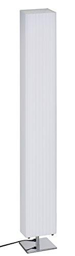 """Trango Design Plissee Stehleuchte Stehlampe Wohnzimmer Lampe Standleuchte in Eckig """"Cannes"""" TGHP-120S - 1"""