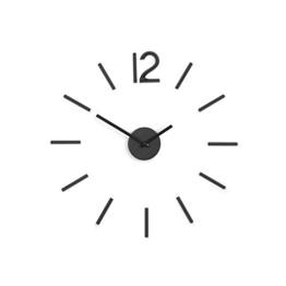 Umbra 1005400-040 Blink Wall Clock, Wanduhr aus Metall, Schwarz - 1