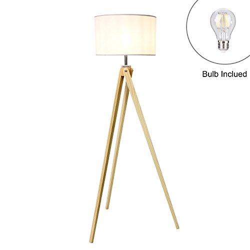 stehlampe mit latest stativ stehleuchte ebba schwarz gold konzept stehlampe mit holzbeinen with. Black Bedroom Furniture Sets. Home Design Ideas
