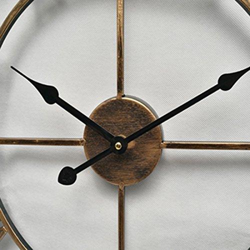 wanduhr xxl metall viele verschiedene produkte redidoplanet. Black Bedroom Furniture Sets. Home Design Ideas
