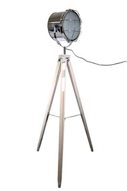 XXL STATIV STEHLEUCHTE STUDIOLAMPE STEHLAMPE SPOT IM STUDIOLAMPEN - DESIGN Lampe Höhe 158cm 605460 - 1