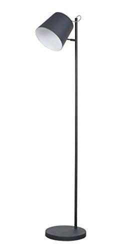 Zuiver 5002038 Floor Lamp Buckle Head, Metall, schwarz - 1