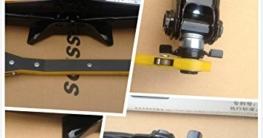 2T Swing Lever Ratchet Scherenwagenheber mit Schwinghebel Steckschlüssel 11-45CM 360 °Aktivitätskopf - 6