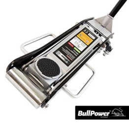 BullPower BP6925S Aluminium Wagenheber 2500kg 2,5T - 85mm - 440mm mit Quicklift für Racing-Sportwagen, Rennsport - 1