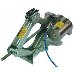 Elektrischer Scheren-Wagenheber, Hubhöhe 12-35cm, Tragkraft 1000kg - 1