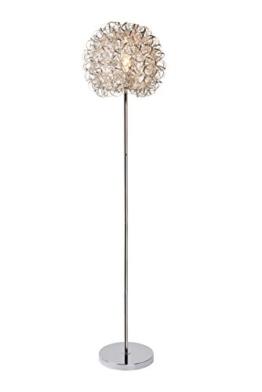 Lucide NOON - Stehlampe - Chrom Matt - 1