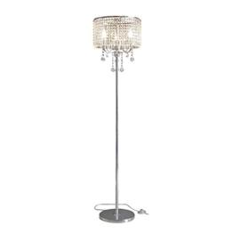 MMM- Stehlampe, Europäischen Luxuriösen Wohnzimmer Schlafzimmer Studie Romantische Kugel Kristall Anhänger Nachttischlampe Lampe Körper Kristall Lampenschirm Stehlampe - 1