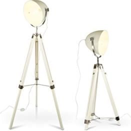MOJO® Stehlampe Tripod Lampe Dreifuss Urban Design Teleskoplampe höhenverstellbar mq-l89 - 1