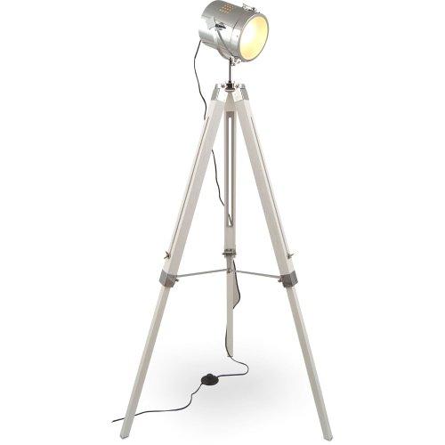 mojo stehleuchte tischleuchte tripod stehlampe tischlampe dreifuss urban industrial design. Black Bedroom Furniture Sets. Home Design Ideas