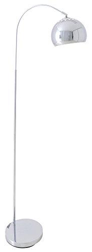 Naeve Leuchten Stehleuchte Metall 40 W E27 chrom 2053342 - 1
