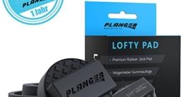 PLANGER ® - LOFTY PAD - Wagenheber Gummiauflage (für BMW, MINI, Mercedes-Benz & Opel) auf Rangierwagenheber und Hebebühnen - Universal Gummiauflage Wagenheber - Schützt Ihren PKW und SUV dank praktischer Form und robustem Gummi. Tuning - 5